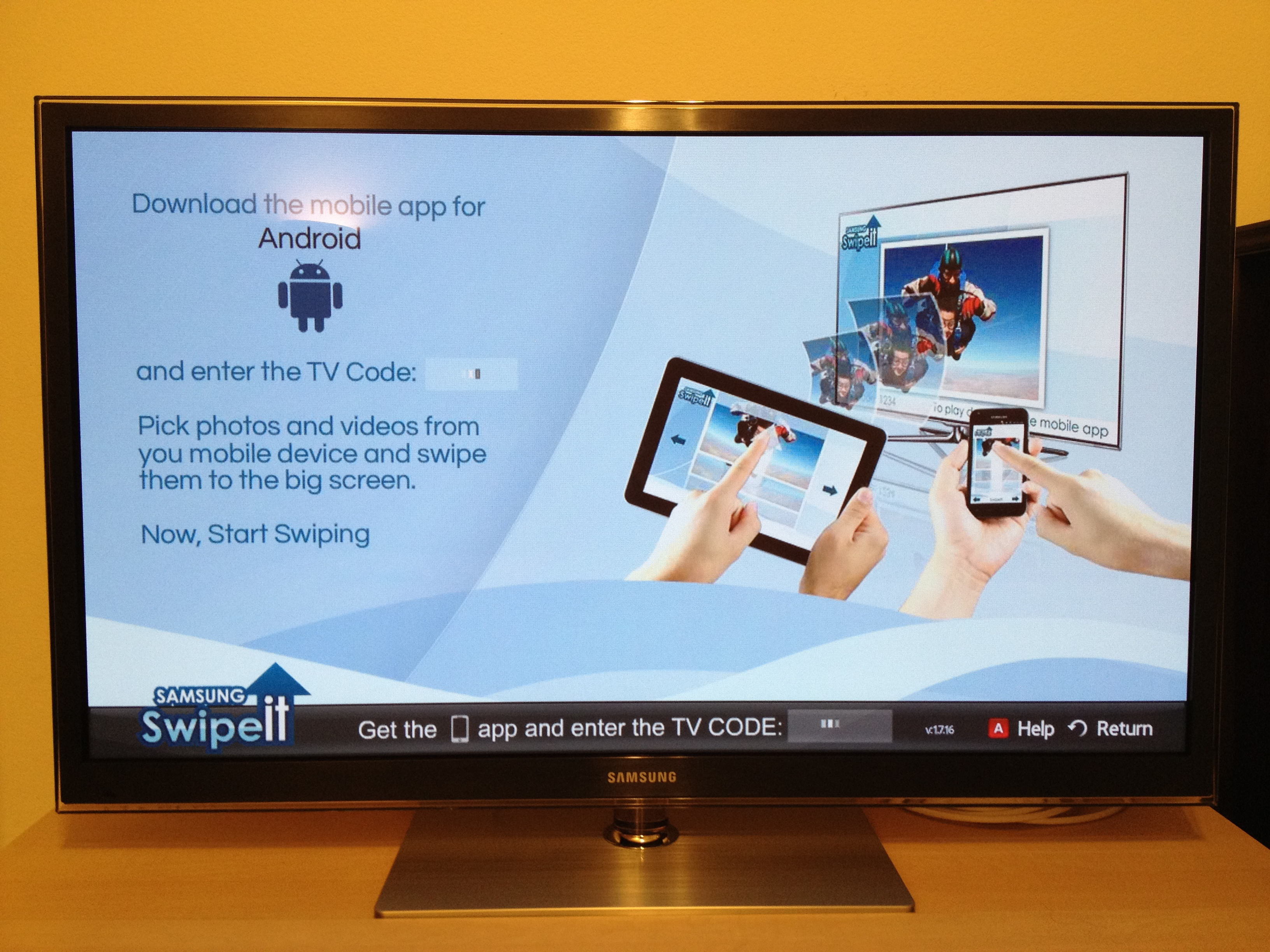 how to connect my ipad to my samsung tv